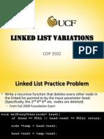 Lec3 LinkedList Variations
