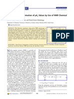 Experimental Determination of pKa Values.pdf