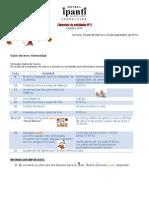 Agenda Preescolar Octubre 2014