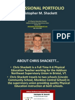 Chris Shackett- Professional Portfolio