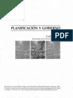 MATUS, Carlos. Planificación y gobierno.pdf