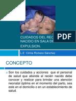 CUIDADOS DEL RECIÉN NACIDO EN SALA DE EXPULSION.pptx