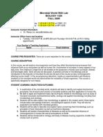 UT Dallas Syllabus for biol1320.001.09f taught by Wen Lin (wenju)