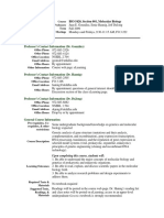 UT Dallas Syllabus for biol5420.001.09f taught by Juan, Ernest Gonzalez, Hannig (jgonzal, hannig)