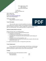 UT Dallas Syllabus for bps7302.001.09f taught by Livia Markoczi (lxm055000)