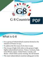 g 8,g 10 & g 15 Countries