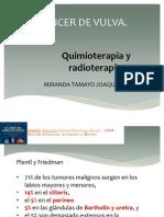 Quimioterapia y radioterapia ca de vulva.pptx