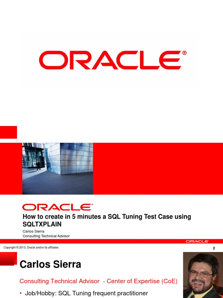 oracle sql tuning with oracle sqltxplain oracle database 12c edition