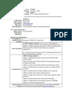 UT Dallas Syllabus for cs4390.002.09f taught by Jorge Cobb (jcobb)
