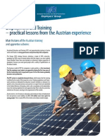Emplyment and training -  Practical lessons from the Austrian experience.pdf