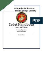 2014-2015 cadet handbook