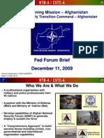 CSTC-A Brief (Dec 09)