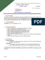 UT Dallas Syllabus for ee3320.002.09f taught by Poras Balsara (poras)