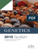 GENETICS 2013 Spotlight