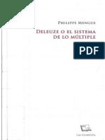 Mengue - Deleuze o el sistema de lo multiple.pdf