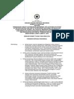 Undang Undang Nomor 16 Tahun 2002 tentang Pengesahan Traktat mengenai Prinsip yang Mengatur Kegiatan Negara dalam Eksplotrasi dan Penggunaan Anatariksa, termasuk Bulan dan Benda Langit Lainnya, 1967