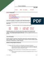 UT Dallas Syllabus for math2419.002.09f taught by Bentley Garrett (btg032000)