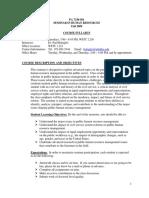 UT Dallas Syllabus for pa7338.501.09f taught by Randy Battaglio (rpb071000)