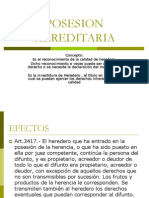 POSESION HEREDITARIA.pps