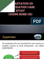 Repatriation Case Study