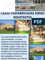 Casas prefabricadas sismo resistentes