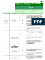 Cruzamento do Modelo de Auto-avaliação da BE com o Modelo de Avaliação da IGE