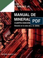 Manual de Mineralogía Vol. 1