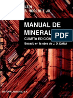 Manual de Mineralogía Vol. 1
