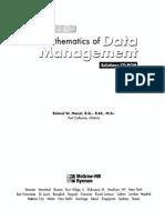 Mathematics of Data Management Solutions