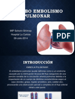 Trombo embolismo Pulmonar.pptx