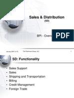 Sales and Distribution SAP