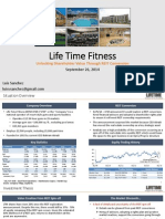 Life Time Fitness (LTM) - 9.26.14