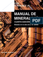 Manual de Mineralogía Vol. 2