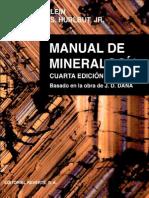 Manual de Mineralogía Vol. 2