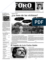 FORO JAVERIANO; Edición 3-2014