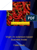 Brand Extensions 2009