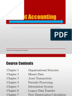 SAP Asset Accoungting Training