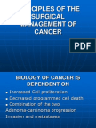 Principles of the Surgical Management of Cancer