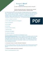 tat2 task3 lesson6 instructor manual