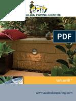 adelaide retaining walls - Versawall