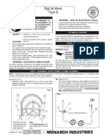 Big Cat Mixer Manual