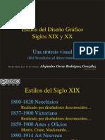 DGSXX-ESTILOS DEL DISEÑO GRÁFICO SIGLOS XIX-XX