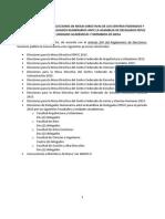 Elecciones Gremiales 2014 PUCP - Periodo 2015