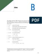 Appendix B_MIPS Instructions