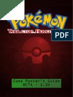 Pokemon Tabletop Adventures GM Guide
