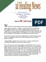 6 june newsletter 2014 published