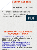 TRADE UNION ACT 1926