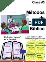 clase05 Metodos de Est Bibl.ppt