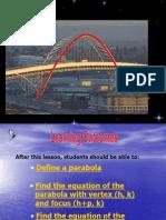 4.3 the Parabola
