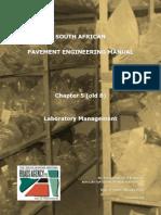 Pavement Laboratory Management